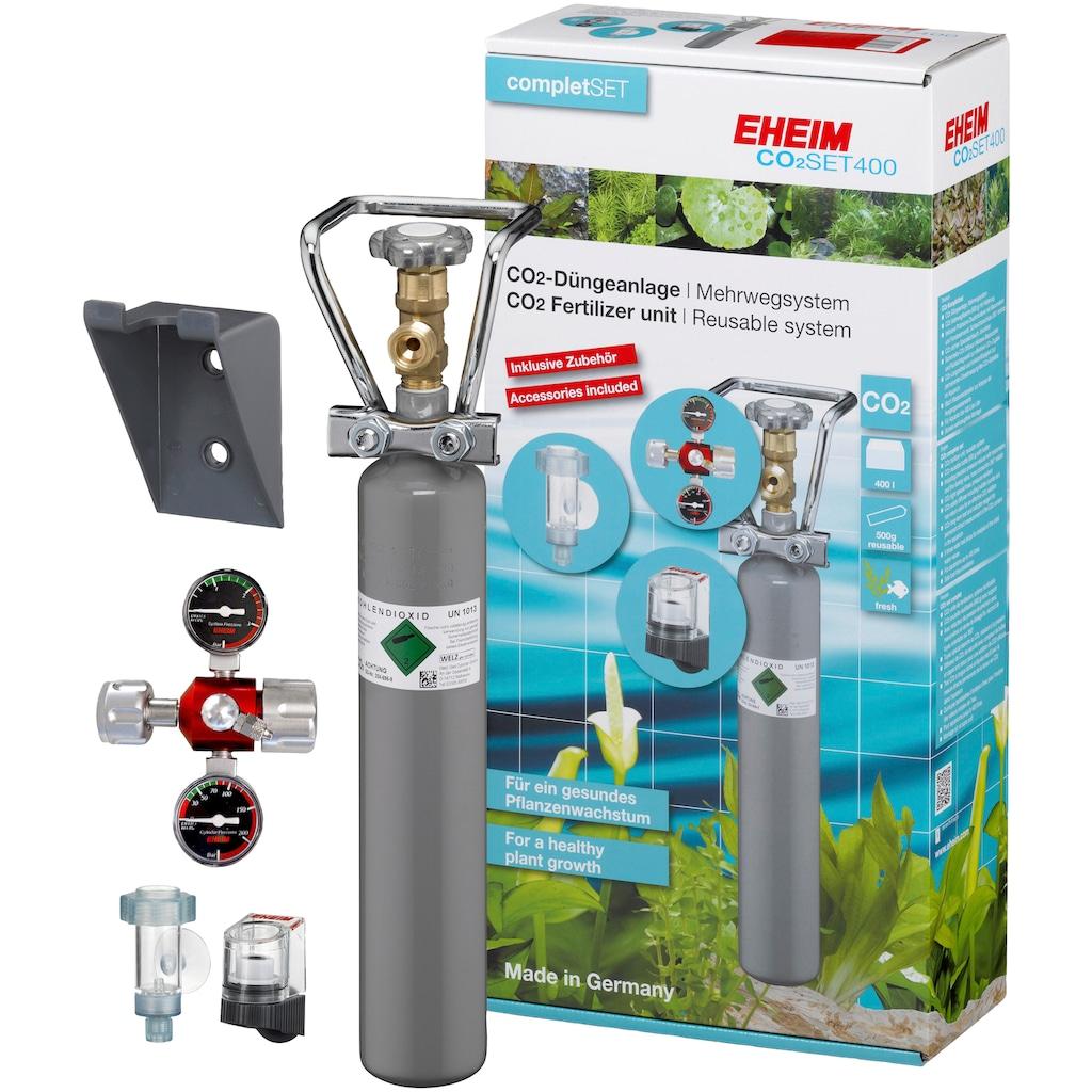 EHEIM Aquariumpflege »SET400«, CO²-Düngeanlage mit 500g Flasche, Mehrweg