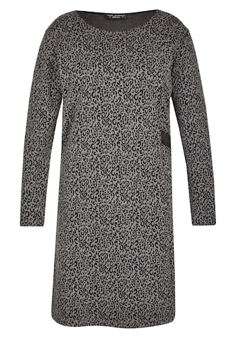 VIA APPIA DUE Feminines Kleid mit Leo - Muster Plus Size kaufen