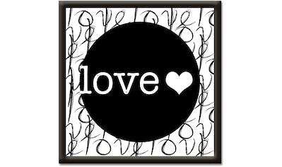 Artland Wandbild »Liebe II« kaufen