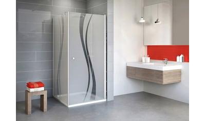 SCHULTE Sparset: Eckdusche »Alexa Style 2.0«, Drehtür mit Seitenwand, BxT: 90 x 90 cm kaufen