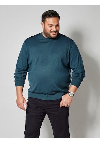 Men Plus by HAPPYsize Rundhalspullover, Spezialschnitt kaufen