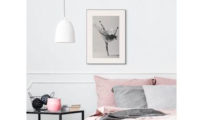 Wandbild »Slim Frame Black 50x70 Ballet Silhouette« kaufen