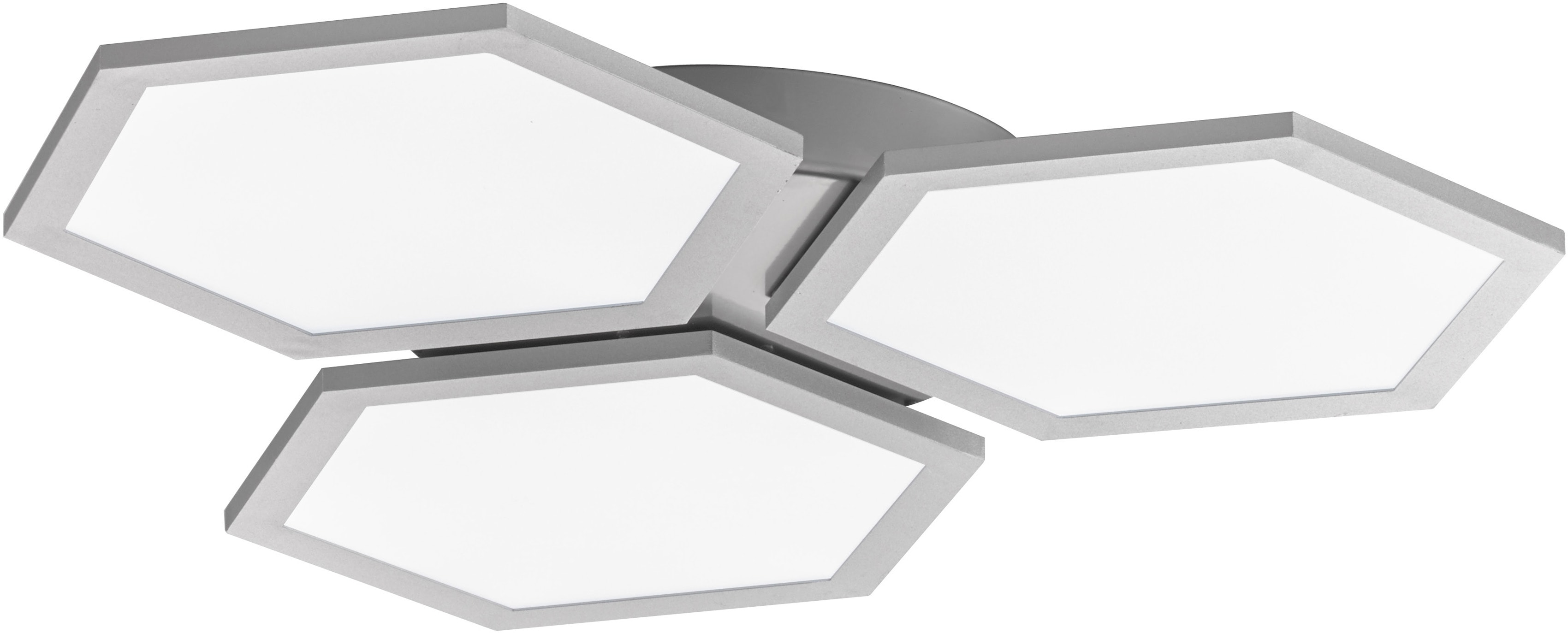 FISCHER & HONSEL LED Deckenleuchte Tiara, LED-Board, 1 St., LED Deckenlampe