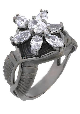 Der Herr der Ringe Fingerring »Dark Years Collection Arwens Abendstern - schwarz weiß,... kaufen