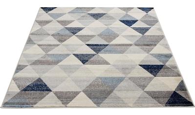 Sehrazat Teppich »Montana 3710«, rechteckig, 8 mm Höhe, Kurzflor, Wohnzimmer kaufen