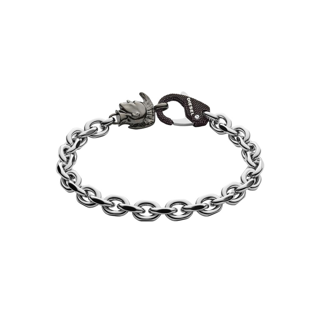 Diesel Armband »STEEL,DX1146040«