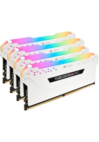 Corsair »VENGEANCE® RGB 32 GB (4 x 8 GB) DDR4 DRAM 3.600 MHz C18« PC - Arbeitsspeicher kaufen