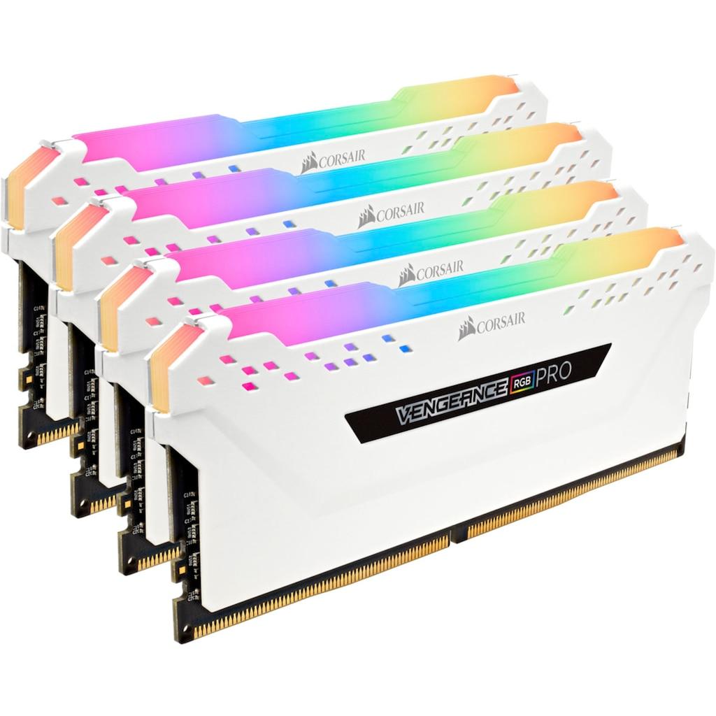 Corsair PC-Arbeitsspeicher »VENGEANCE® RGB 32 GB (4 x 8 GB) DDR4 DRAM 3.600 MHz C18«