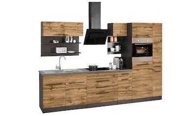 HELD MÖBEL Küchenzeile »Tulsa«, mit E - Geräten, Breite 320 cm kaufen