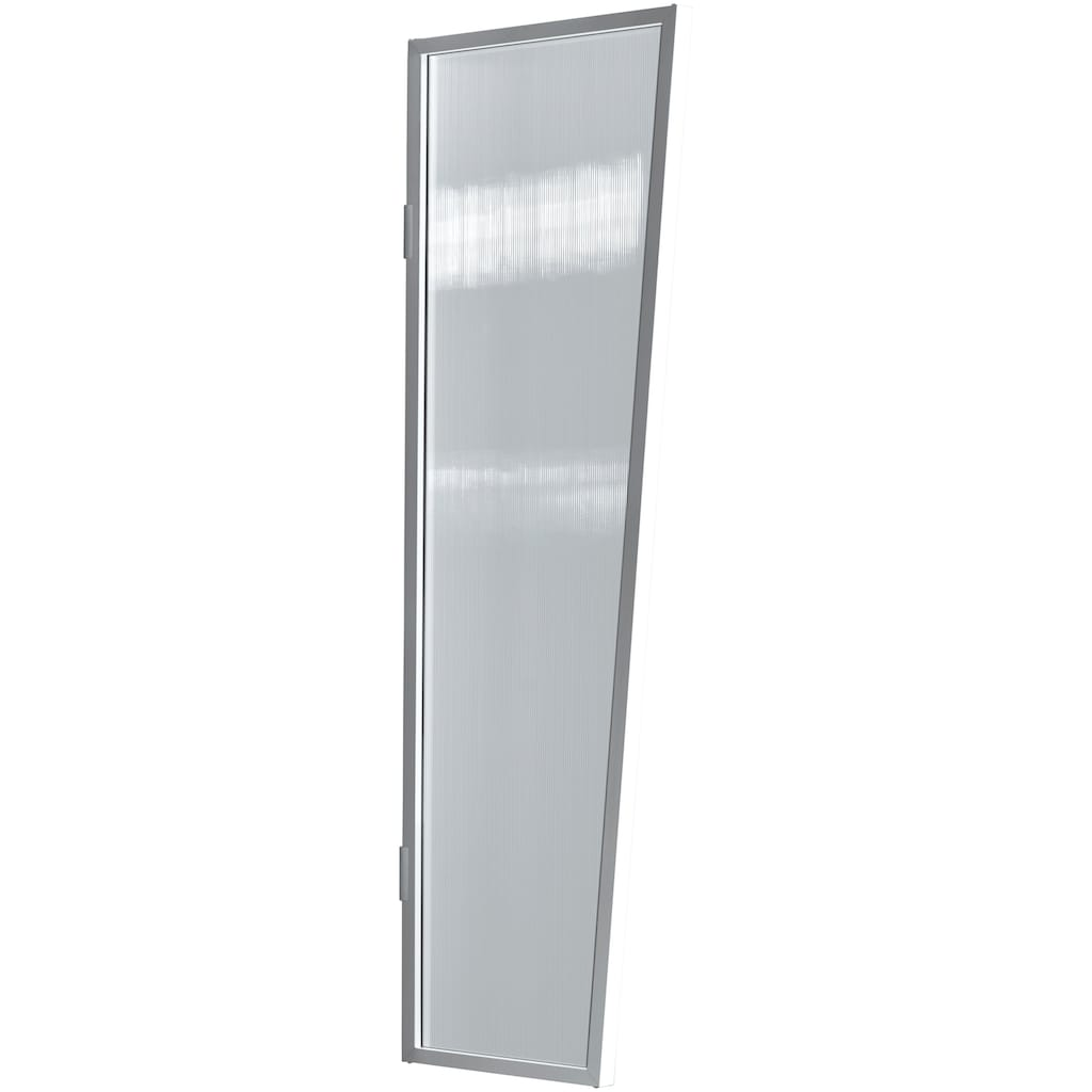 GUTTA Seitenblende »B2 PC klar«, TxH: 45-60x175 cm