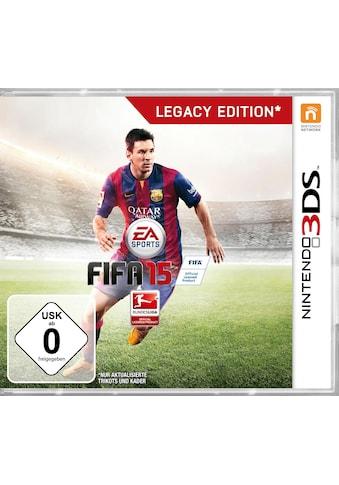 Electronic Arts Spiel »Fifa 15 Legacy Edition«, Nintendo 3DS, Software Pyramide kaufen