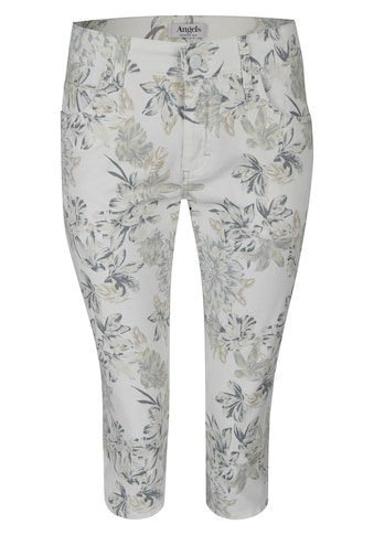 ANGELS Jeans ,Capri' mit femininem Blumenmuster kaufen