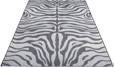 Home affaire Teppich »Zadie«, rechteckig, 3 mm Höhe, Wohnzimmer, In- und Outdoor geeignet kaufen