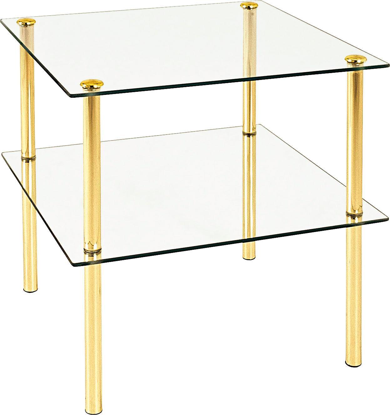 HAKU Beistelltisch Wohnen/Möbel/Tische/Glastisch/Glas-Beistelltische