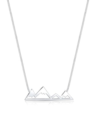 Elli Collierkettchen »Berge Mountain Anhänger Reise Cut - Out 925 Silber« kaufen