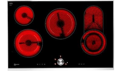 NEFF Elektro-Kochfeld von SCHOTT CERAN® »T18TT16N0«, T18TT16N0, mit TwistPad® Bedienung kaufen