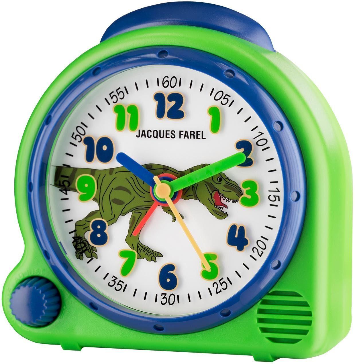 Jacques Farel Kinderwecker Happy Sound AVC 13DINO | Dekoration > Uhren > Wecker | Grün | Jacques Farel
