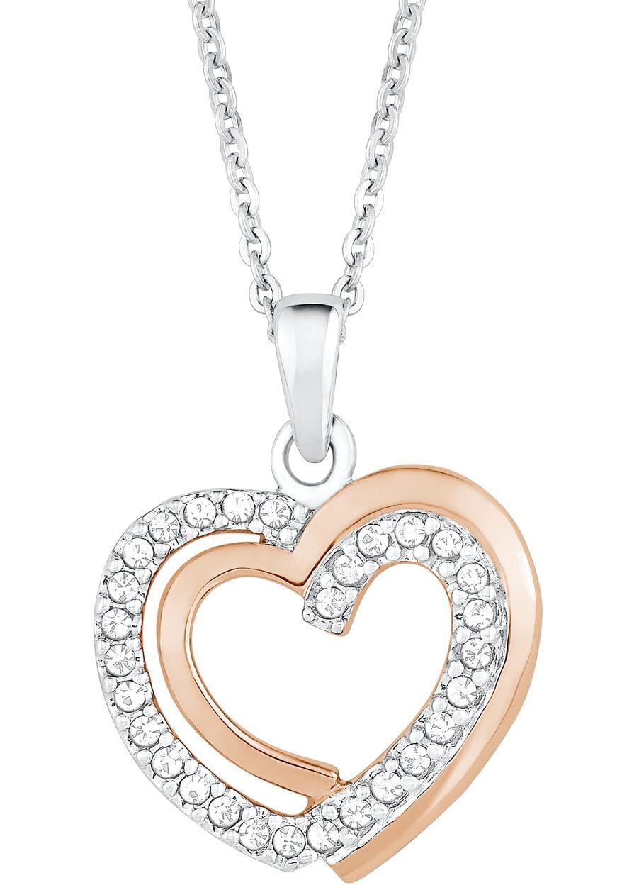 Amor Kette mit Anhänger »Herz, 9271450« | Schmuck > Halsketten > Herzketten | AMOR