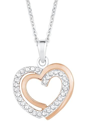 Amor Kette mit Anhänger »Herz, 9271450«, mit Zirkonia kaufen