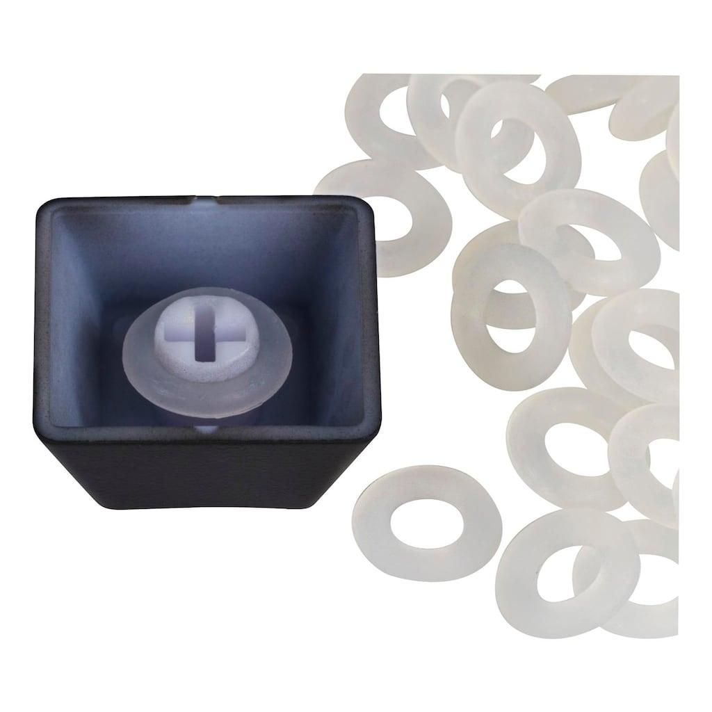 DELTACO bestehend aus Bürste, Silikon, O-Ringe »Erweiterungs- Kit für mechanische Tastaturen«