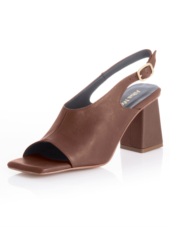 alba moda -  Sandalette, mit ausgeprägtem Carrée