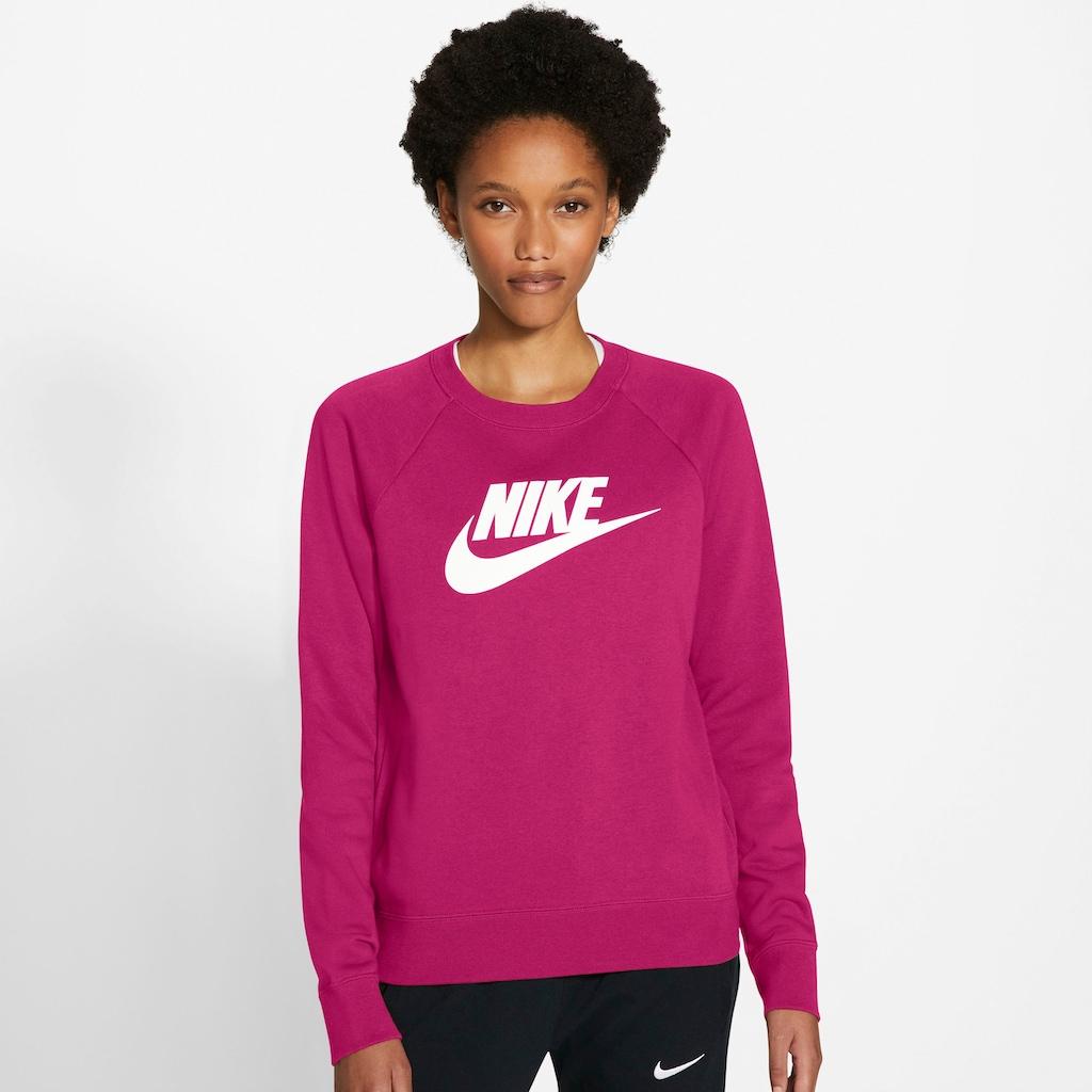 Nike Sportswear Sweatshirt »W NSW ESSNTL CREW FLC HBR«