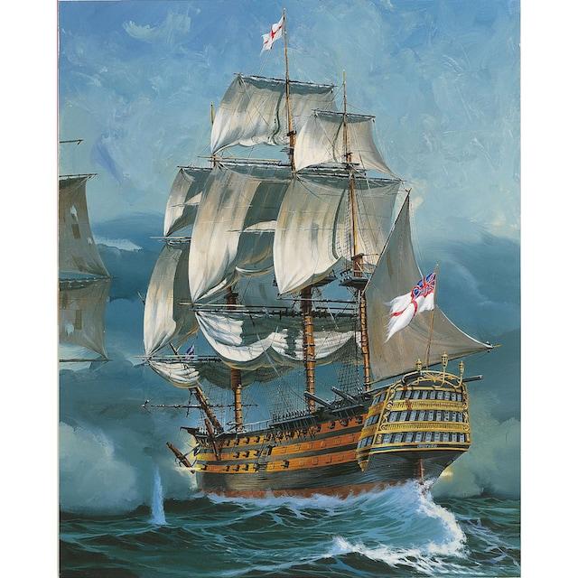 """Revell® Modellbausatz """"HMS Victory, Battle of Trafalgar"""", Maßstab 1:225"""