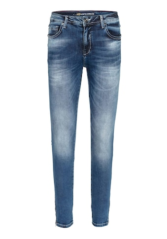 Cipo & Baxx Slim-fit-Jeans, mit cooler Waschung in Straight Fit kaufen