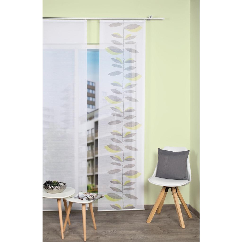 Vision S Schiebegardine »MIROLA«, HxB: 260x60, Schiebevorhang Bambusoptik Digitaldruck