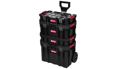 KREHER Werkzeugtrolley 4 - tlg., 3 Boxen, 1 Trolley kaufen