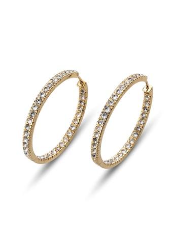 Oliver Weber Paar Ohrstecker »Hoop«, Swarovski Kristalle kaufen