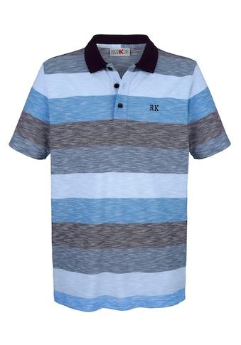 Roger Kent Poloshirt in modischer Optik kaufen