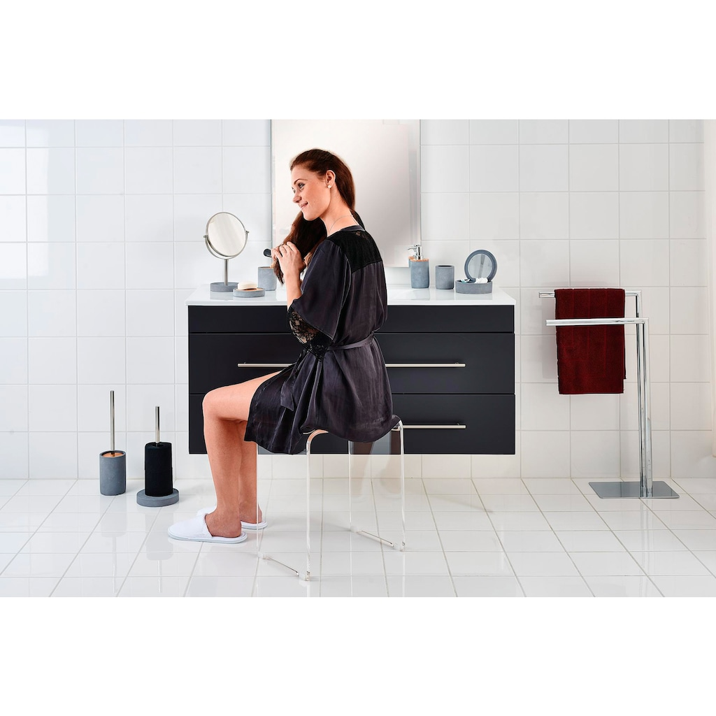 Ridder Toilettenpapierhalter »Cement«, für bis zu drei Rollen