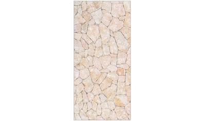 MySpotti Spritzschutz »fresh F3 Natursteinwand Beige«, 100 x 210 cm kaufen