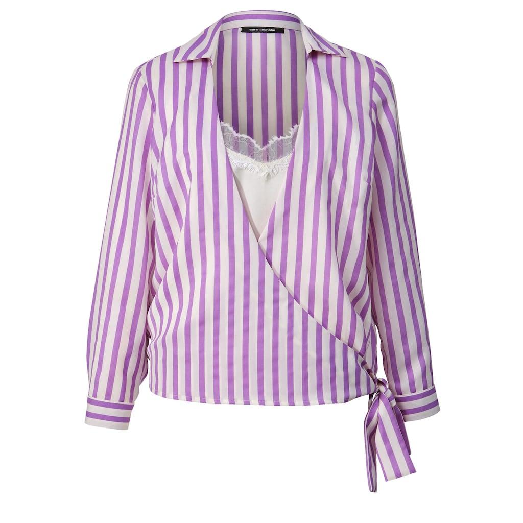 Sara Lindholm by HAPPYsize 2-in-1-Bluse gestreift
