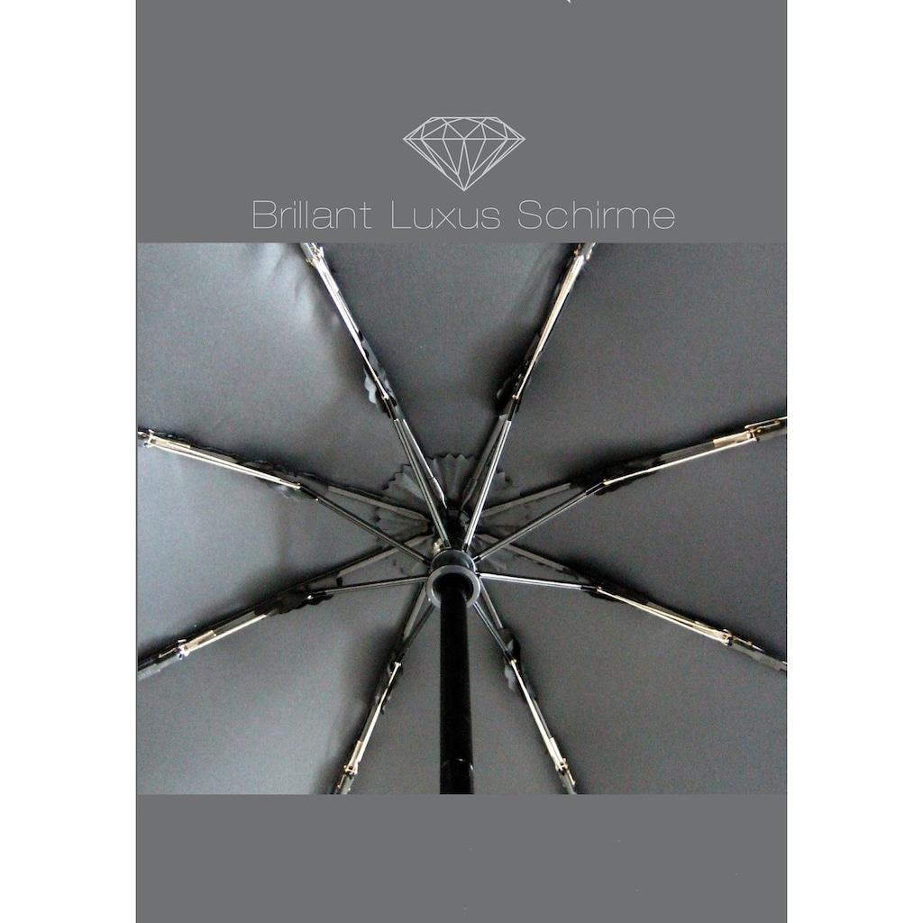 Euroschirm Taschenregenschirm »Brilliant Luxus, Holz«