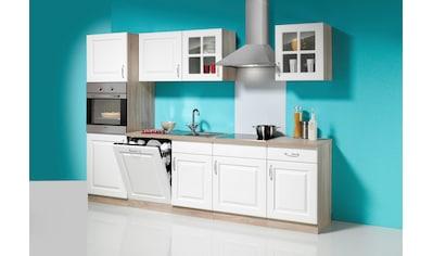 wiho Küchen Küchenzeile »Tilda«, inkl. E-Geräte, mit autarkem Kochfeld, Breite 280 cm kaufen