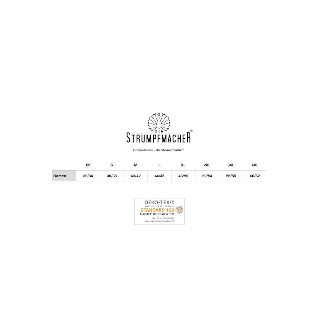 Die Strumpfmacher Ouvert Strumpfhose, 20 DEN, mit Overknee-Effekt