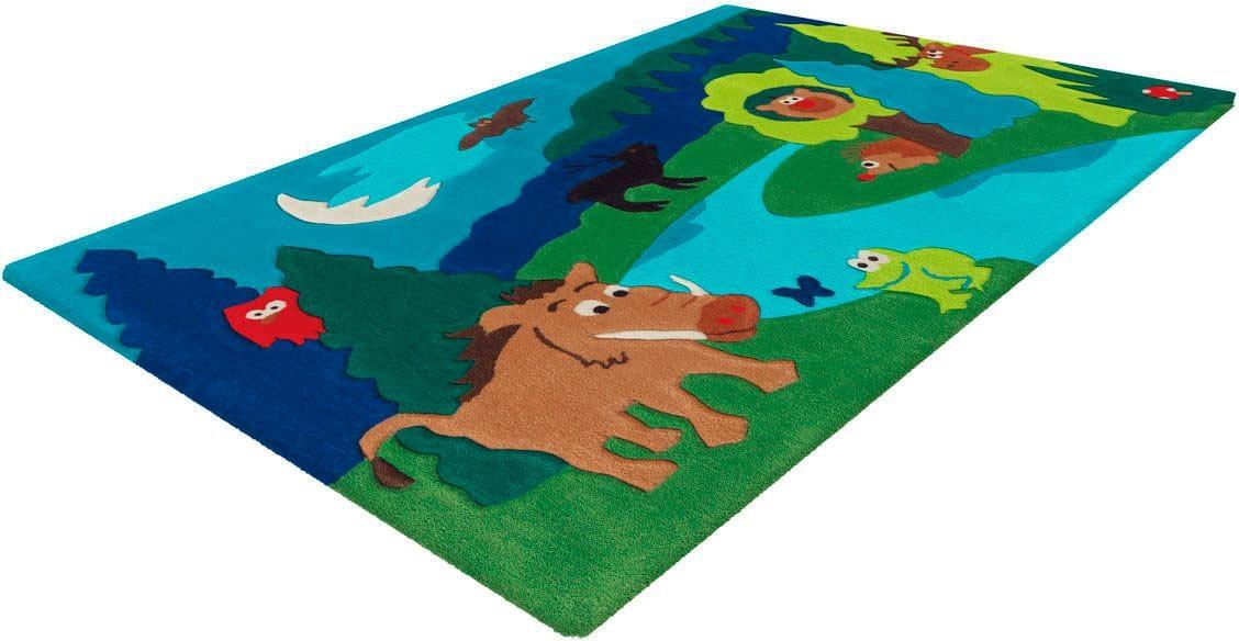 Kinderteppich Sam 4160 Arte Espina rechteckig Höhe 11 mm handgetuftet