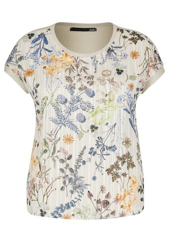 LeComte T-Shirt, mit Mustermix und Glitzerdetails kaufen