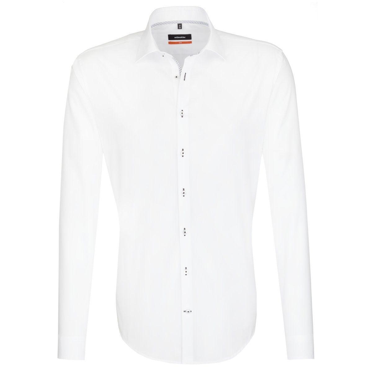 seidensticker Businesshemd »Slim« | Bekleidung > Hemden > Business Hemden | Weiß | SEIDENSTICKER