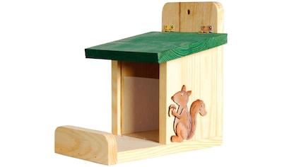 dobar Futterhaus »Eichhörnchen«, BxTxH: 16x23x22 cm kaufen