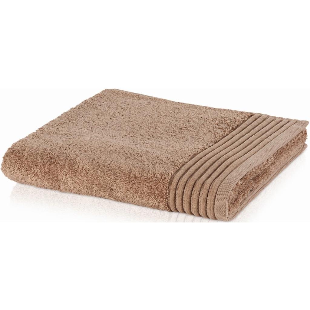 Möve Handtuch »Loft«, (1 St.), mit breiter Bordüre
