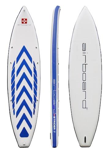 Airboard Inflatable SUP-Board »Airboard STRIDER«, (Set, 5 tlg., mit Pumpe und Transportrucksack) kaufen