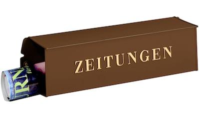 Burg Wächter Briefkasten »808 K«, Zeitungsbox kaufen