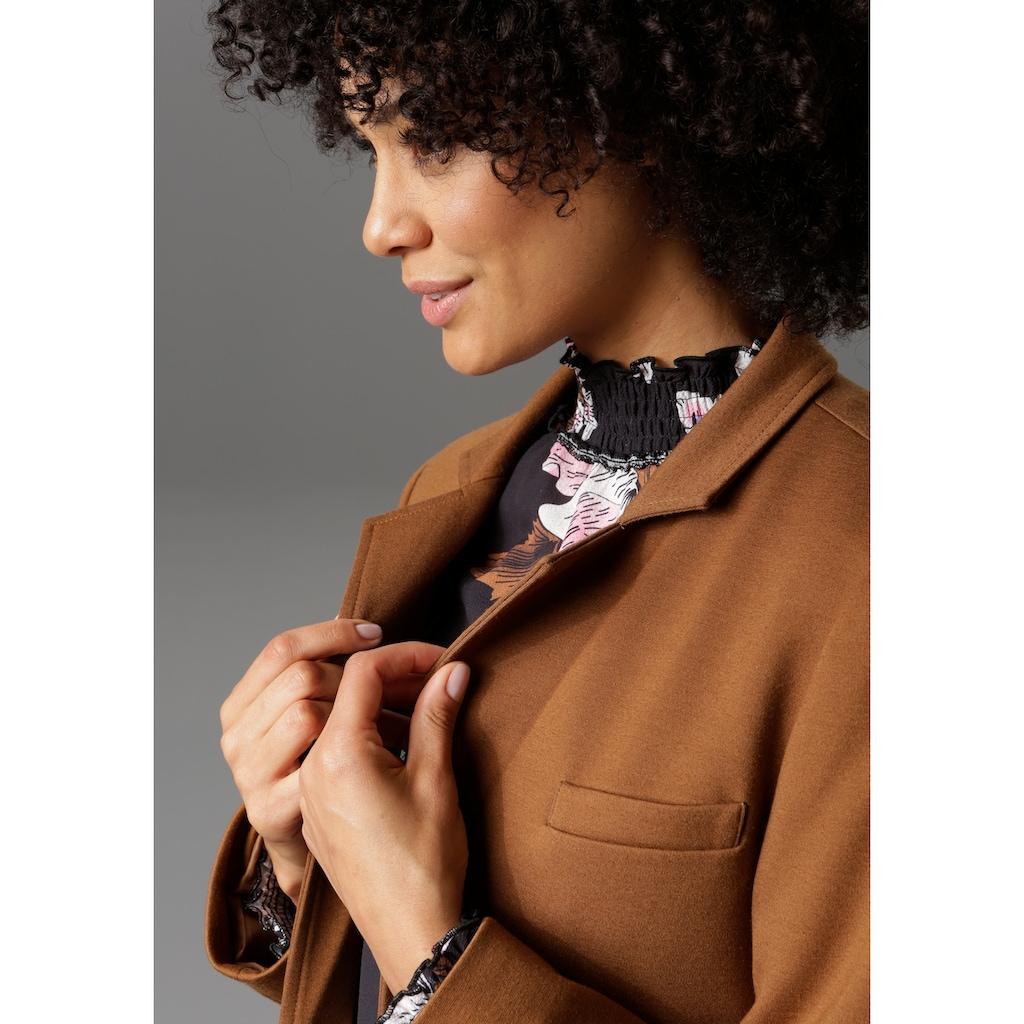 Aniston CASUAL Longblazer, mit Reverskragen - NEUE KOLLEKTION