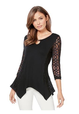 Lady Shirt mit Spitze kaufen