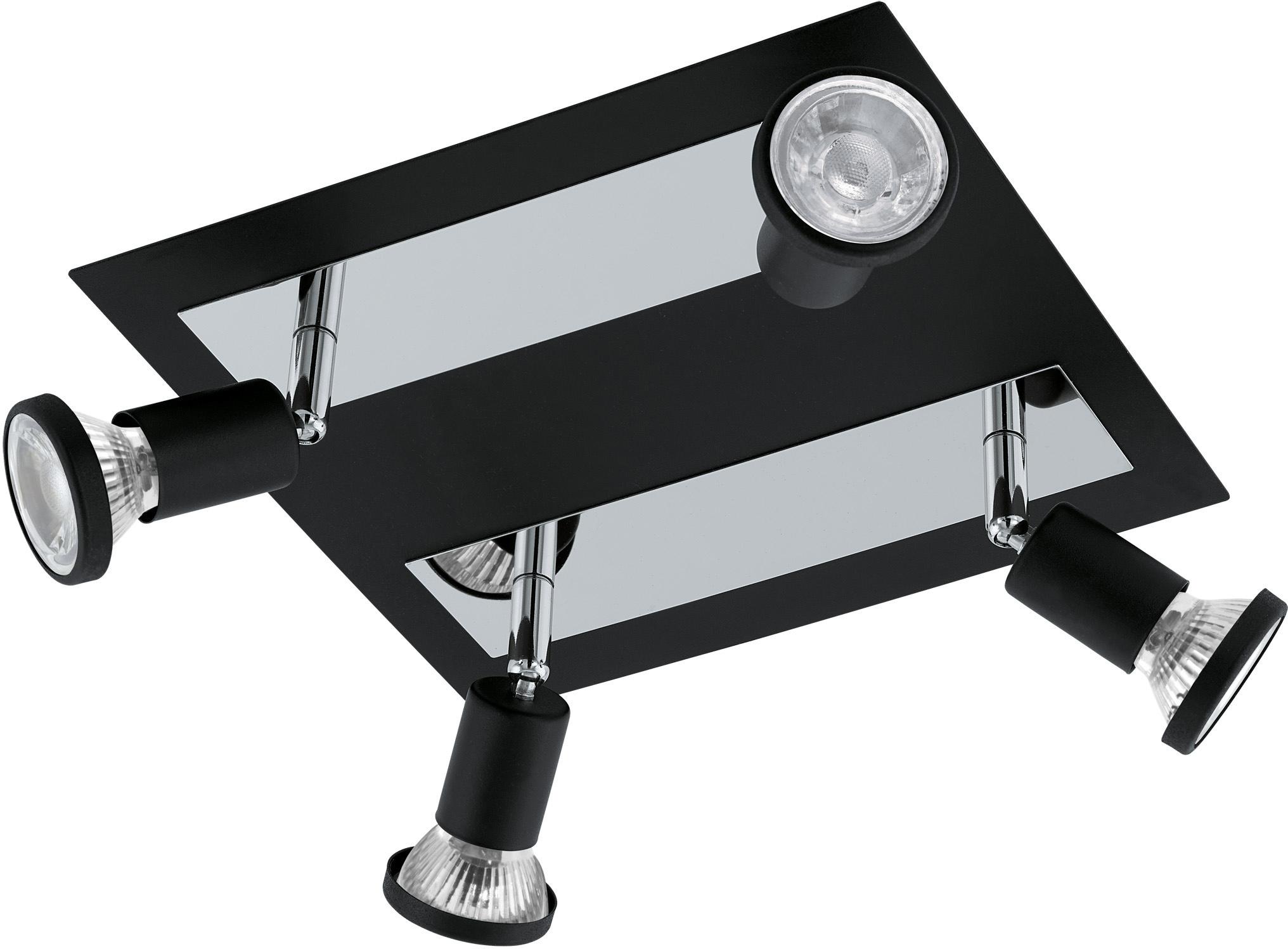 EGLO LED Deckenspots SARRIA, LED-Board-GU10, Warmweiß, LED Deckenleuchte, LED Deckenlampe