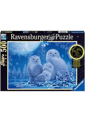 Ravensburger Puzzle »Star Line - Eulen im Mondschein«, leuchtet im Dunkeln; Made in... kaufen