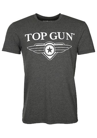 TOP GUN T-Shirt »Cloudy«, sportlicher Schnitt kaufen